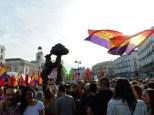 Manifestación Abdicación Rey Juan Carlos España