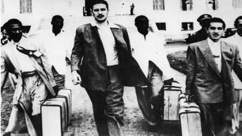 Fidel Castro días antes del al Cuartel Moncada. Foto :Cubanet