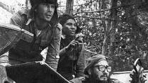 1971 Fidel toma su puesto en el combate contra el gobierno de turno.