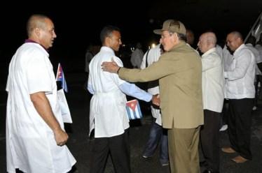Birgadas médicas cubanas