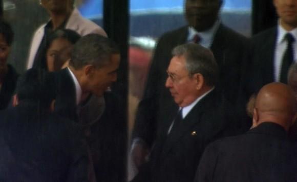 Barack Obama y Raúl Castro en una nueva era.
