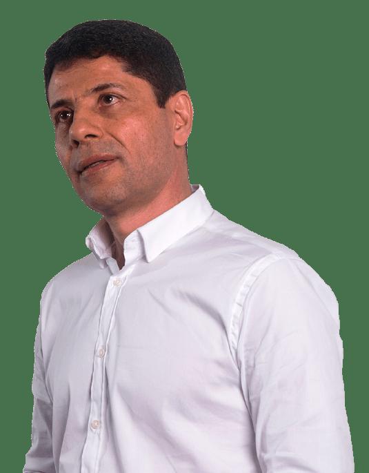 Héctor Hoyos candidato