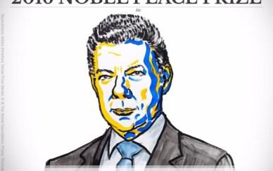 Ilustración Premio Nobel de Paz 2016