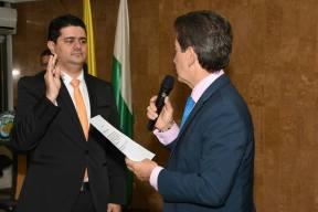 Rodolfo Correa Vargas se posesionó ante el gobernador de Antioquia como el nuevo secretario de Productividad y Competitividad