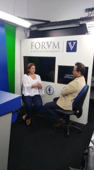 Entrevista en GALERÍA POLÍTICA a Jacqueline Toloza