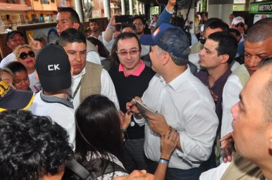 Ivñan Duque visita a Medellín.