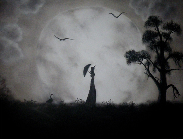 Peinture Clair De Lune