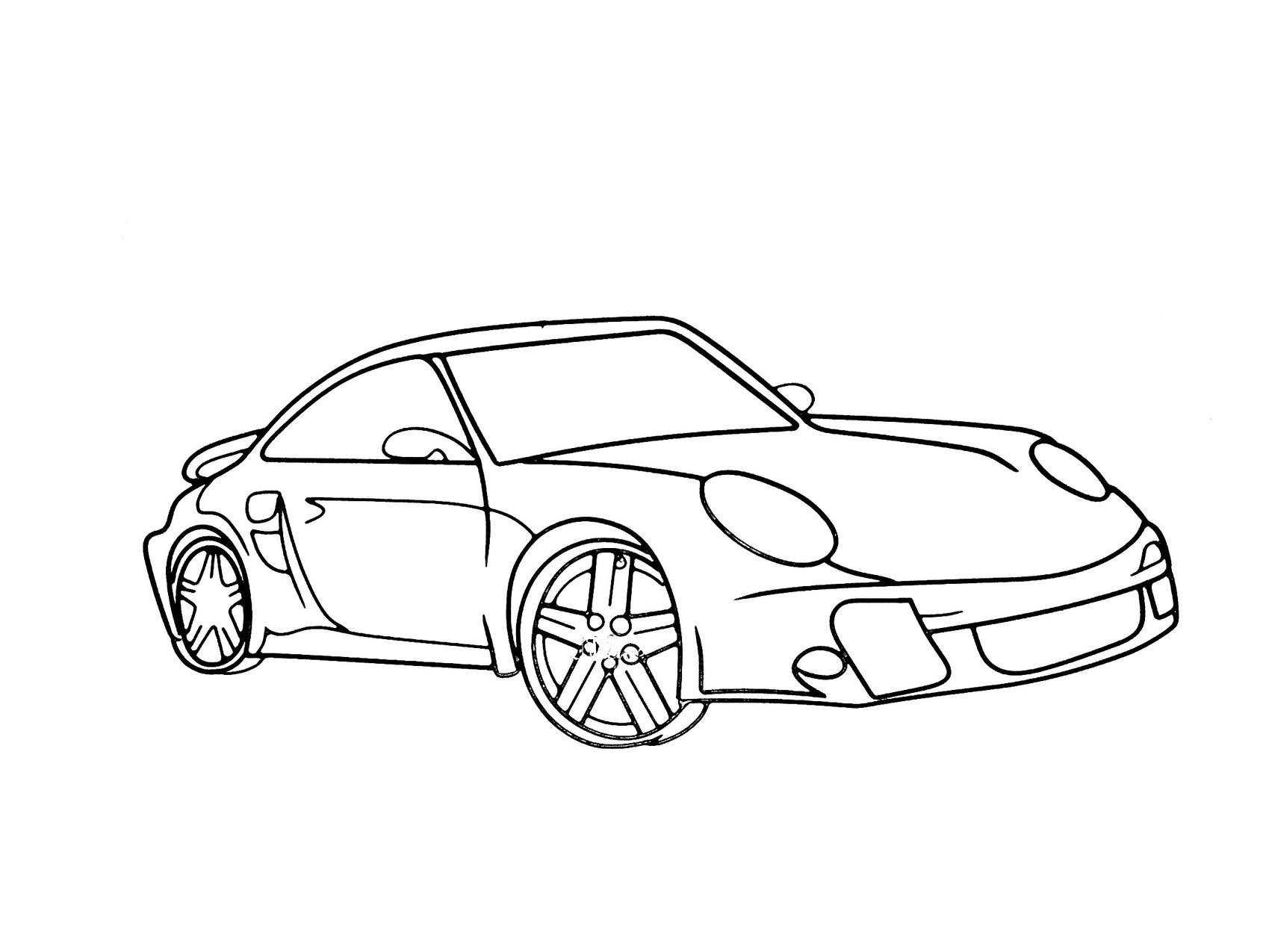 Dessin Porsche