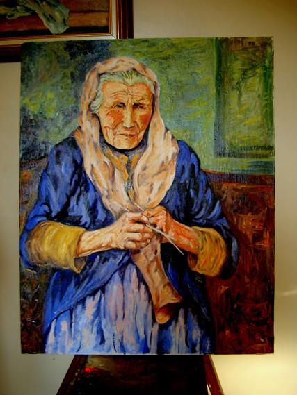 Peinture Grand Mere