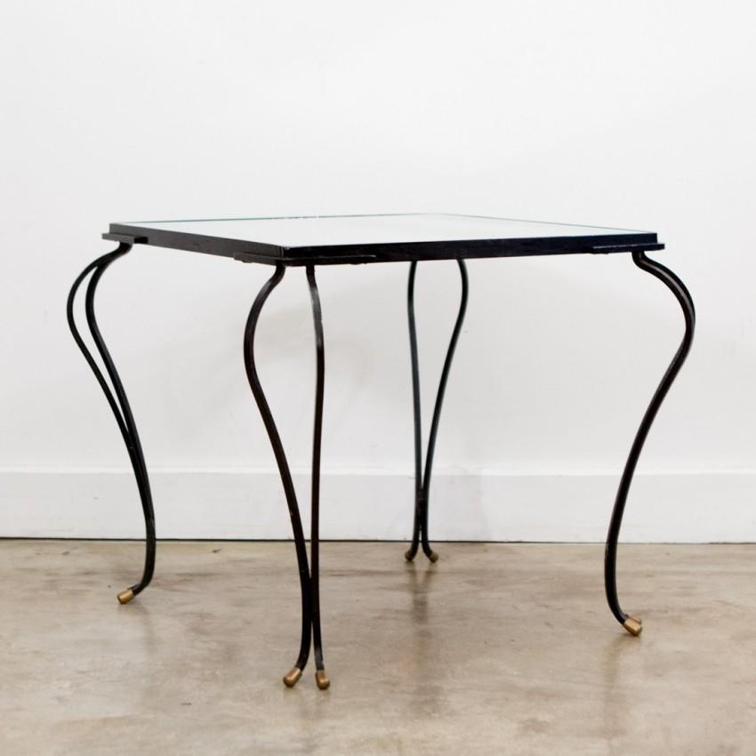 Table Basse En Fer Forg