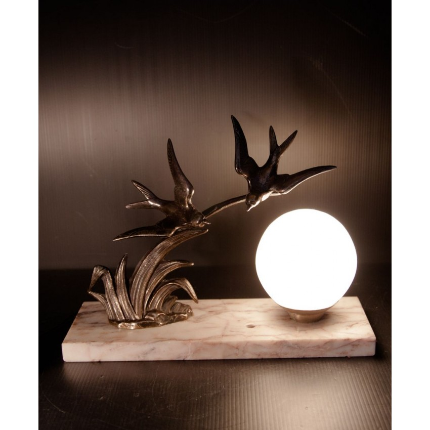 lampe de chevet art deco