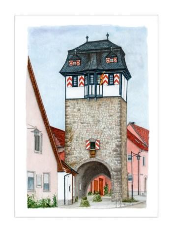 Röttingen – Neuer Hundheimer-Torturm