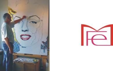 Hochwertige Kunst Auf Leinwand Abstraktes Acrylbild Im Hochformat