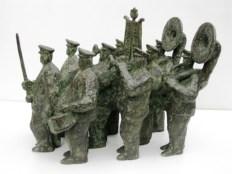 Fanfare - brons - 30x40x25 cm