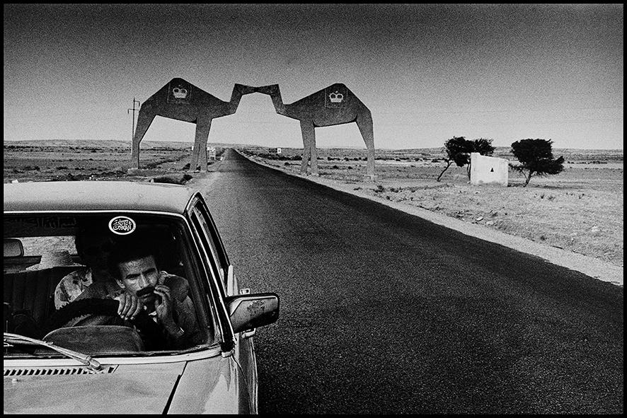 Porte du désert, route de Tan-Tan 1991