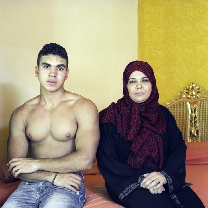 Mahmoud et sa mère (3)