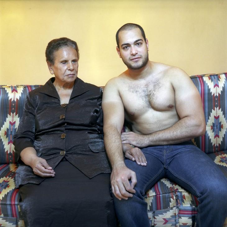 George et sa mère