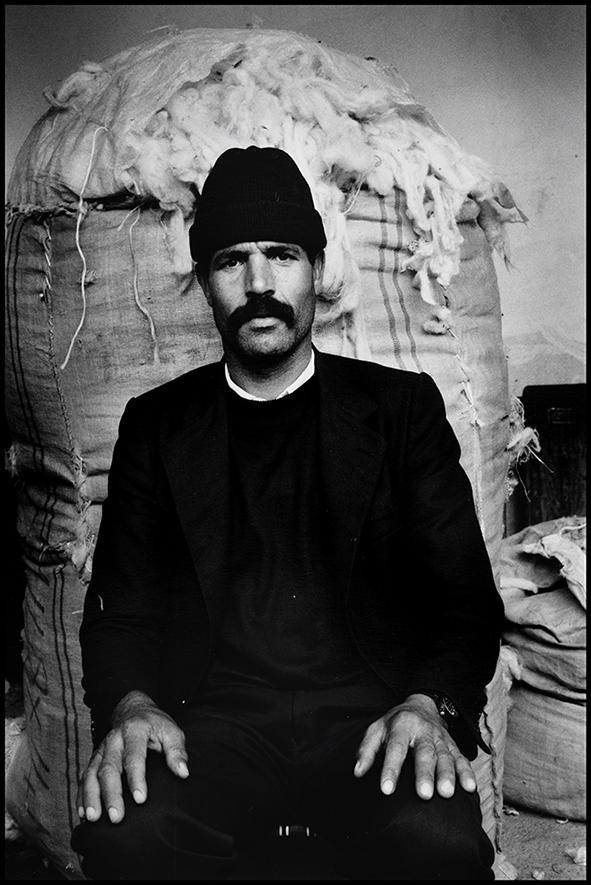 Souk de la laine, Bab Ghissa, Fès 1998