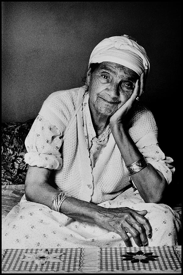 Itto, ma grand-mère, Anza (près d'Agadir), 1991 BD