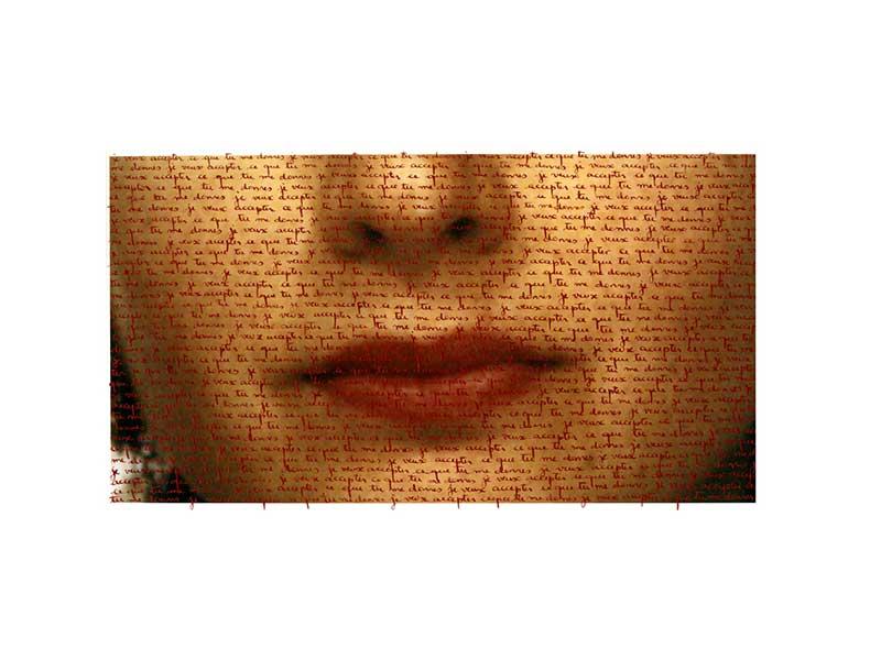 Je veux accepter ce que tu me donnes - 40 x 29 cm - Ed. 2/5