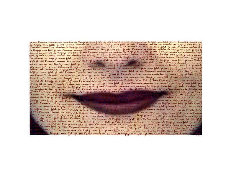 Je vois l'amour comme un trapèze sans filet - 40 x 29 cm - Ed. 5/5