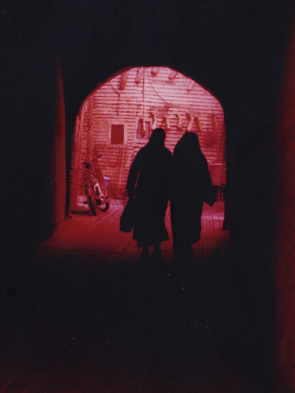 Deux femmes, Marrakech 2013