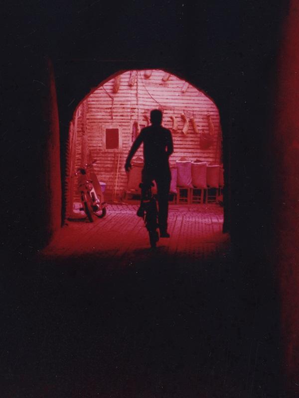 Le cycliste, Marrakech 2013