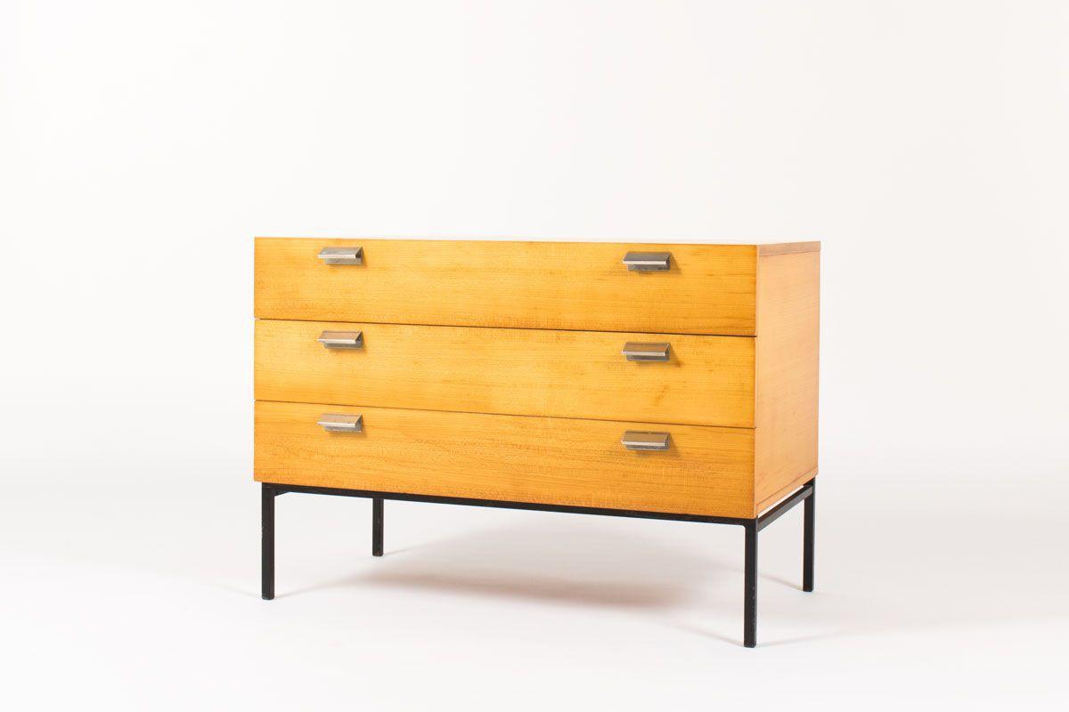 meuble vintage en bois des annees 50