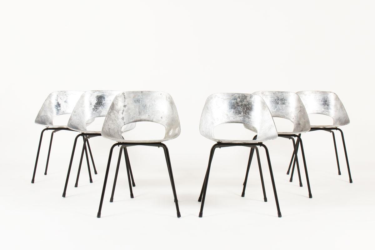 chaises vintage iconiques des annees 50 par pierre guariche pour steiner