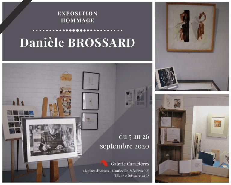 Danièle Brossard, exposition