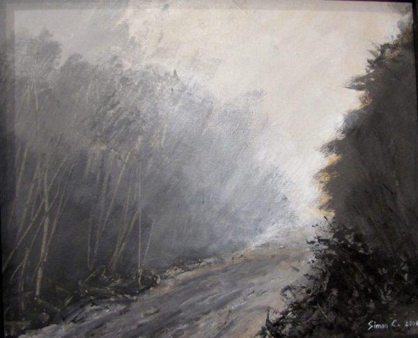 Grisaille peinture Simon C.