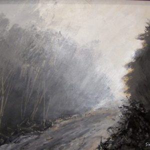 Grisaille, peinture de Simon C.