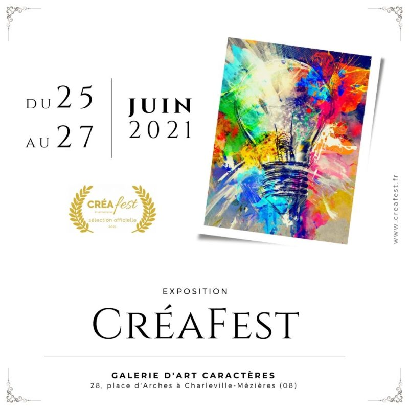 You are currently viewing CréaFest 2021, Exposition