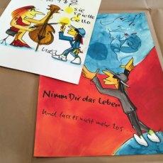 Neue Originale von Udo Lindenberg