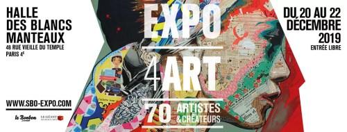 Les Blancs Manteaux – Expo 4ART