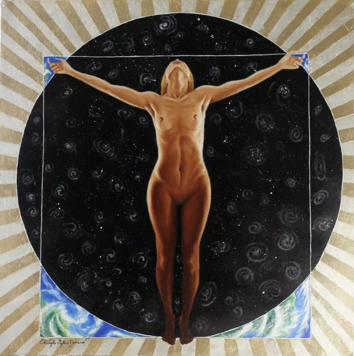 Women center of humanity (La femme au centre de l'humanité) par Christophe Stephan Durand
