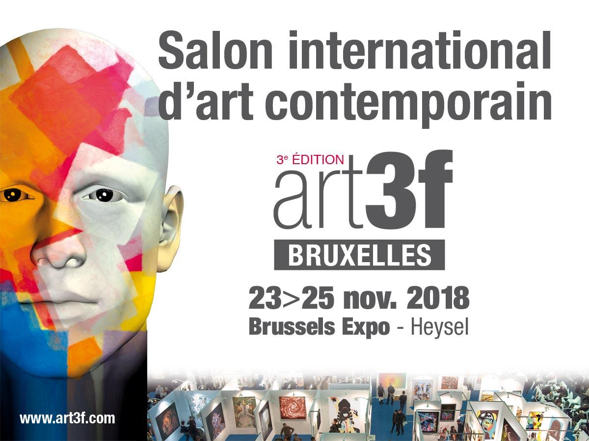 Galerie Manceau art3f-BRUSSELS-2018