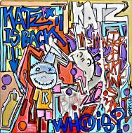 Peinture originale KATZ IS BACK par TAREK.
