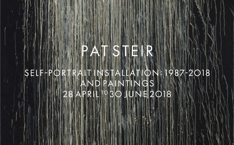 "Pat Steir Video about the exhibition ""Self-Portrait Installation: 1987-2018 and Paintings""28 April to 30 June 2018, Galerie Thomas Schulte, Berlin"