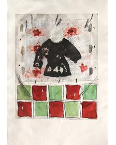 Sans titre, 2003. Gravure, 105 cm x 75 cm.