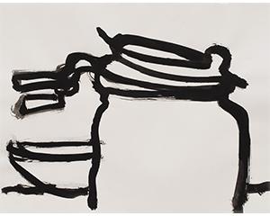 ENCRES NOIRES - 2018. 28 x 35.5 cm. Photo : Nicolas Pfeiffer