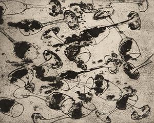 Sans titre, 2003. Gravure, 66 cm x 50 cm.