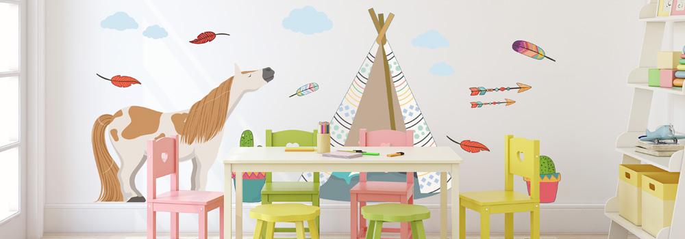 stickers muraux chambre enfant et bebe
