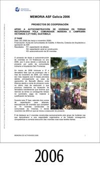 2006_ASFEG_Memoria de actividades