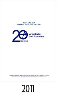 2011_ASFEG_Memoria de actividades