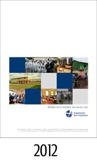 2012_ASFEG_Memoria de actividades