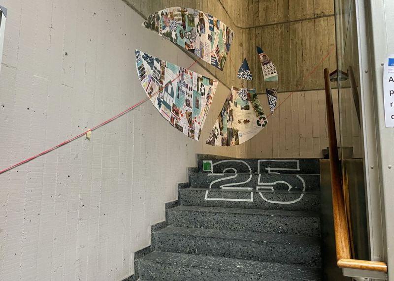 Exposición 25º Aniversario ASF Galicia na ETSAC