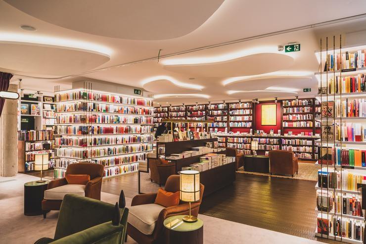 Arquivo - Imaxe dunha libraría. @FABIANTALKING - Arquivo