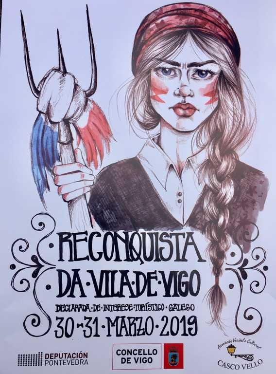 La Reconquista en Vigo será el 30 y 31 de Marzo