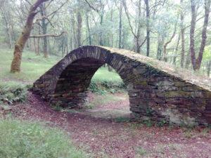 Puente romano en O Caneiro (As Pontes)